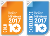 top ten reviews gold award