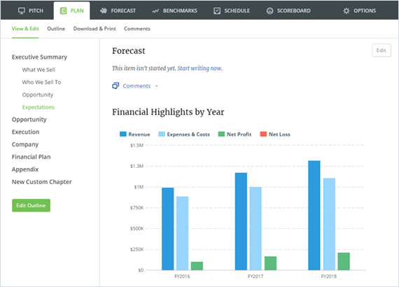 Build a roadmap for success with effortless financial forecasts