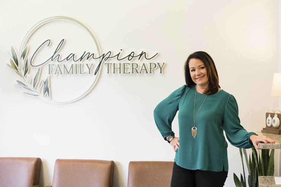 Jessica, at Champion Family Therapy