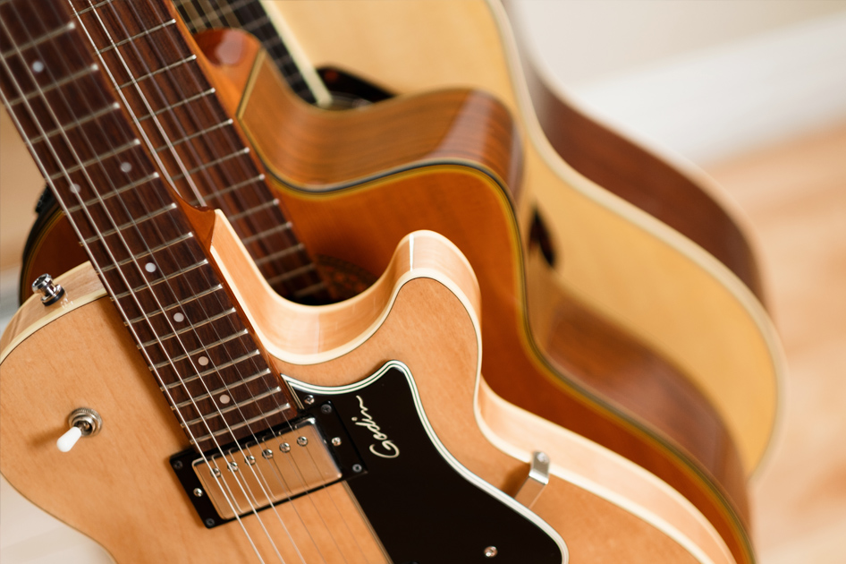 Marc-Andre's guitar collection