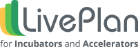 LivePlan Incubators and Accelerators logo